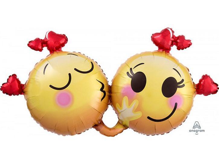 Folienballon Emoticons in Love