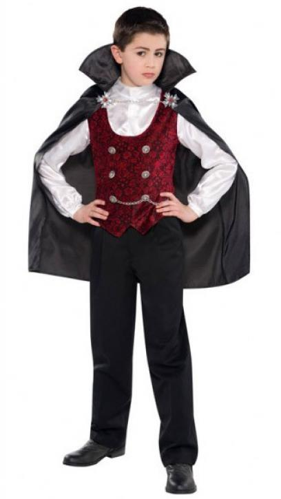 Kostüm Kinder Vampir 4-6 Jahre