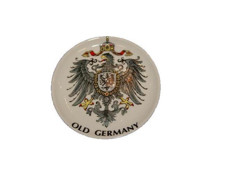 Teller Untersetzer Old Germany 9.5 cm