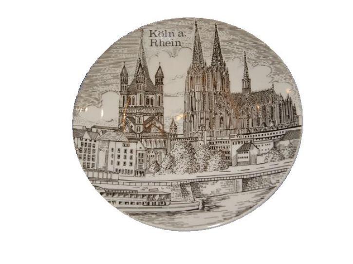 Teller Kölner Dom 14,5 cm