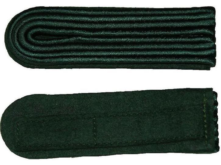 Schulterstücke grün 4 Streifen