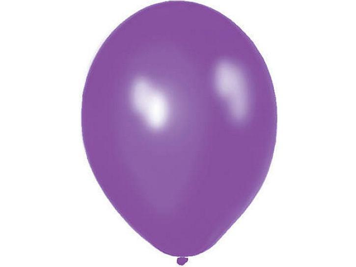 Luftballon königslila 20 Stk.