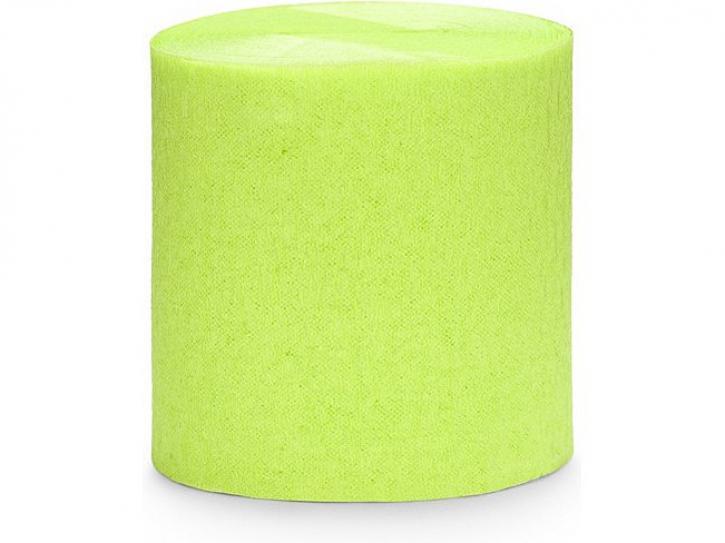 Girlande Crepe hellgrün 4 Stk.