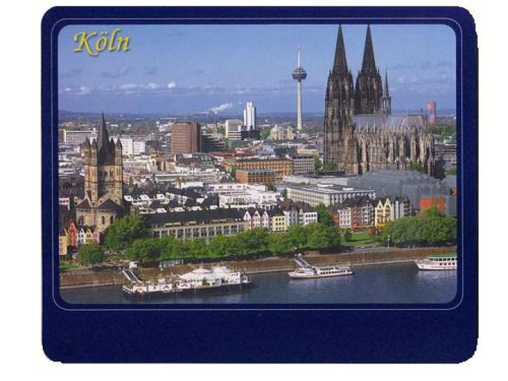 Mousepad Köln amTag