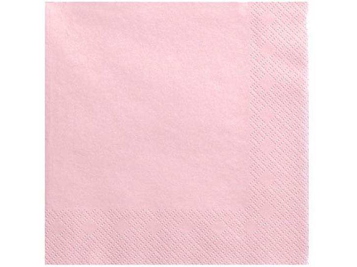 Servietten rosa 20 Stk.